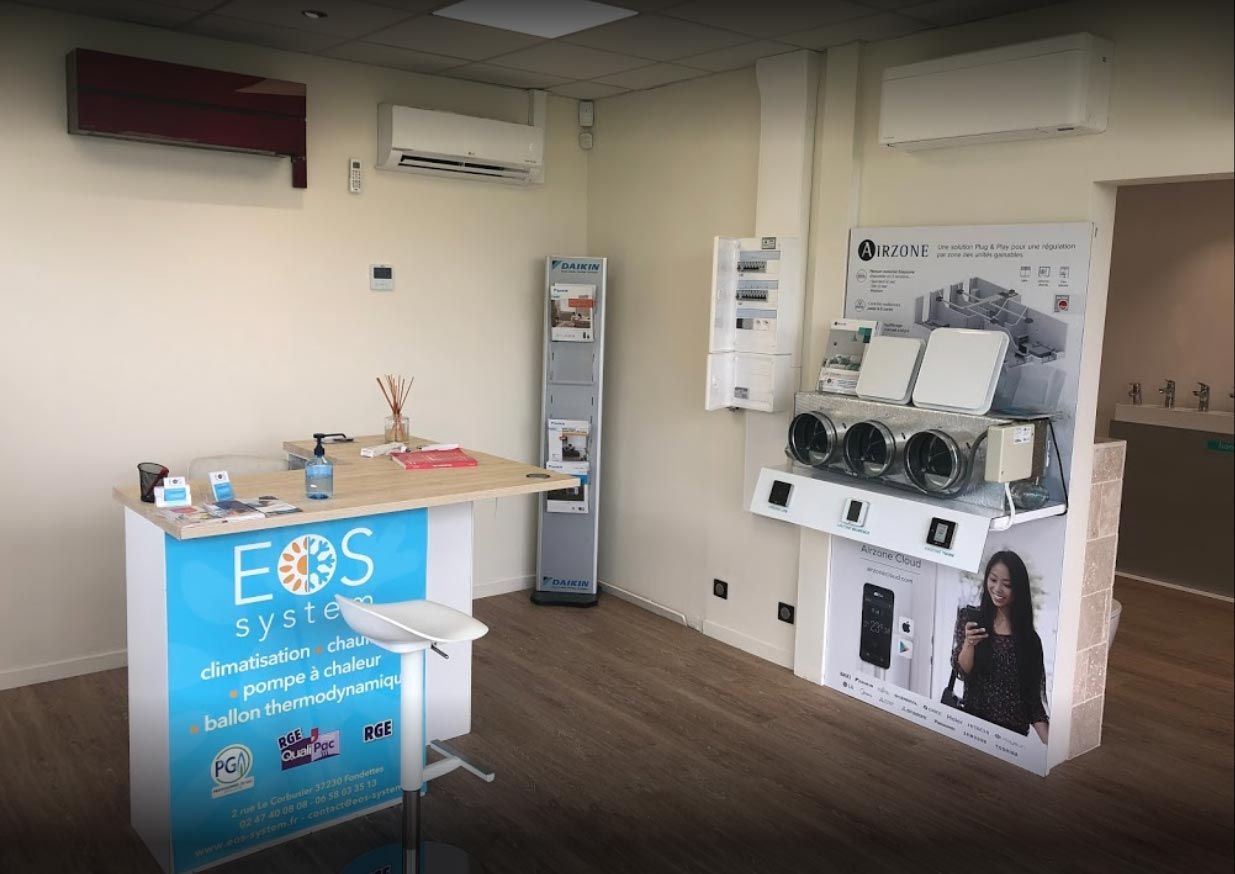 Showroom Eos System
